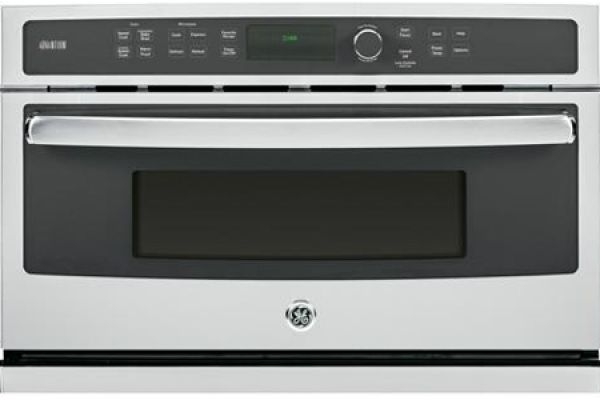 """Large image of GE 30"""" Advantium Stainless Steel Wall Oven - PSB9240SFSS"""