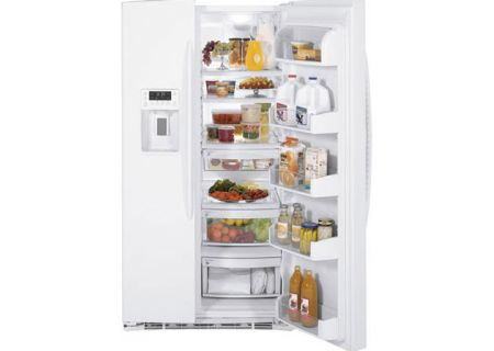 GE - PSHF6MGZWW - Side-by-Side Refrigerators