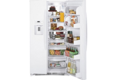GE - PSHF6PGZBB WHITE - Side-by-Side Refrigerators