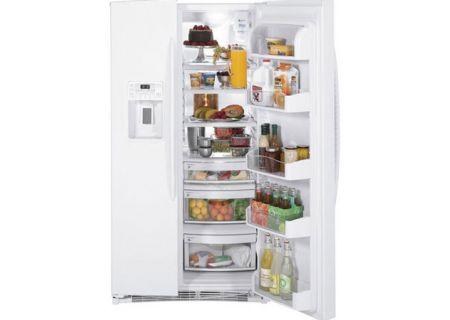 GE - PSHF6PGZBB WHITE - Side-by-Side Refrigerators