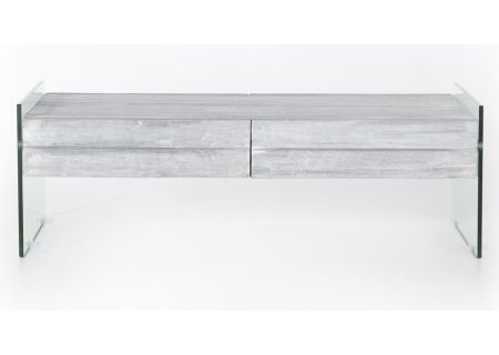 Four Hands Soho Collection Pale Grey Houston Coffee Table - PSOH-03-GS