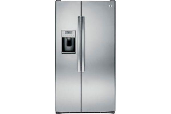 GE Profile Side By Side Stainless Steel Refrigerator - PSS28KSHSS
