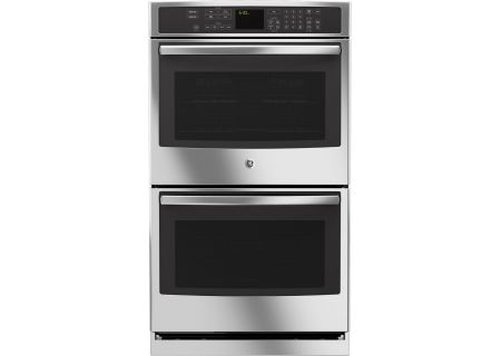 """GE Profile 30"""" Stainless Steel Built-In Double Wall Oven - PT7550SFSS"""