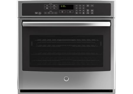 "GE Profile Series 30"" Stainless Steel Single Wall Oven - PT9050SFSS"