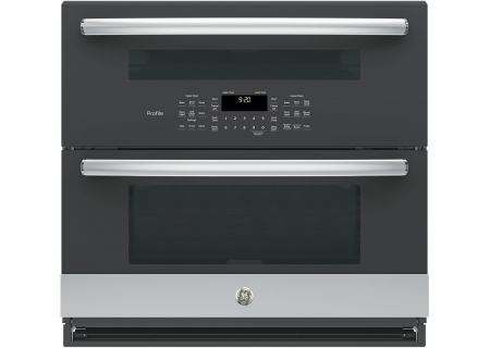 "GE Profile 30"" Stainless Steel Built-In Twin Flex Convection Wall Oven - PT9200SLSS"