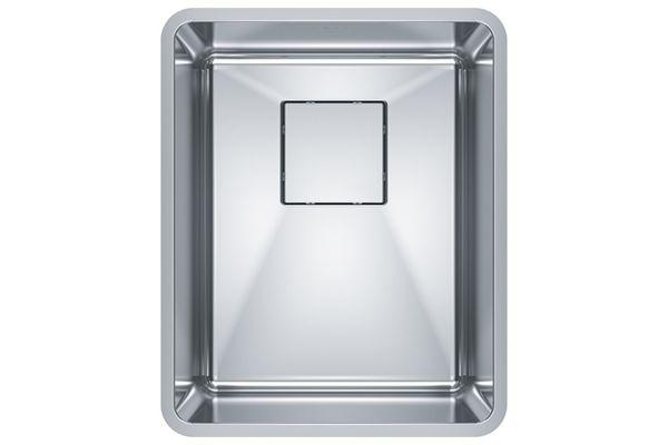 Large image of Franke Pescara Stainless Steel Kitchen Sink - PTX110-14