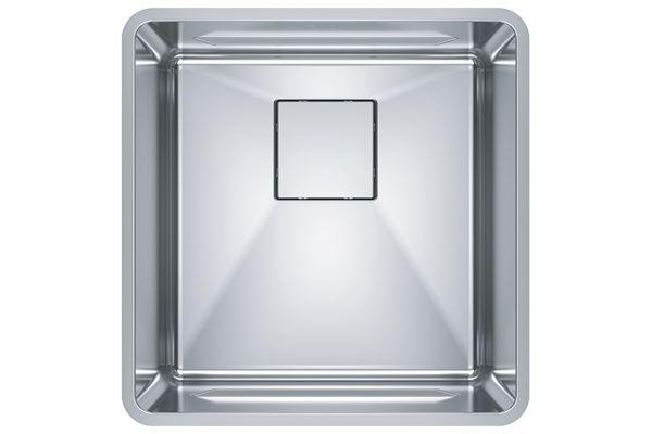 Large image of Franke Pescara Stainless Steel Kitchen Sink - PTX110-17