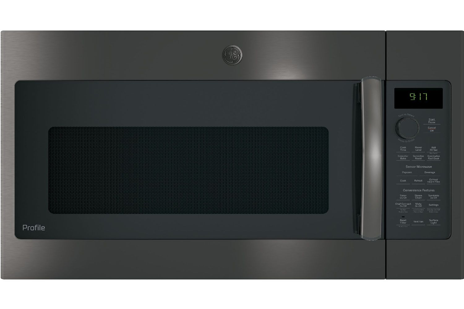 Ge Profile Black Stainless Steel Over The Range Convection Microwave Oven Pvm9179blts