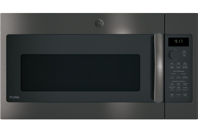 Ge Profile Black Stainless Steel