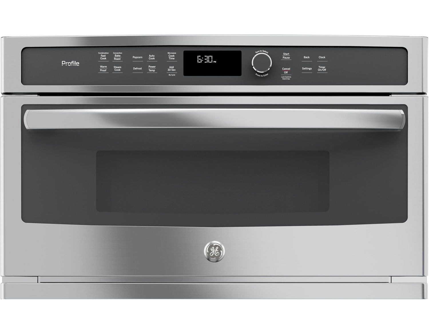 Ge Profile Microwave Convection Oven Pwb7030slss