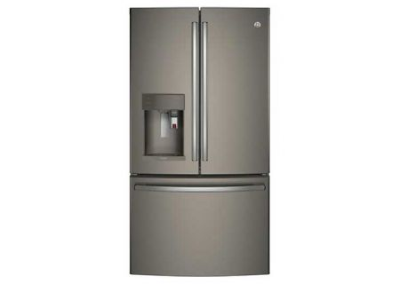 GE Profile Counter Depth Slate French-Door Refrigerator - PYE22PMKES
