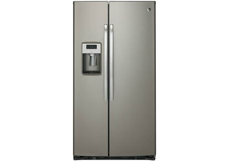 GE - PZS22MMKES - Side-by-Side Refrigerators