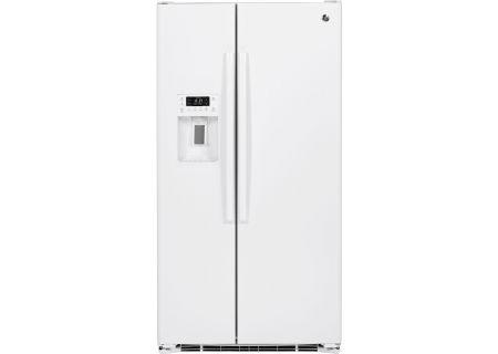 GE - PZS23KGEWW - Side-by-Side Refrigerators