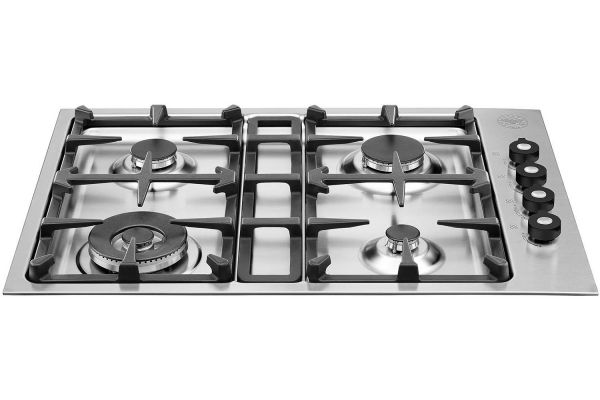 "Bertazzoni 30"" Master Series Stainless Steel Drop-In Gas Cooktop - Q30400X"