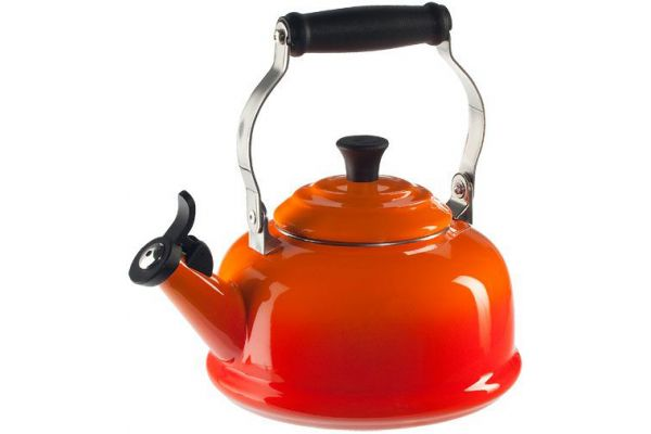 Large image of Le Creuset 1.7 Qt. Flame Classic Whistling Kettle - Q3101-2
