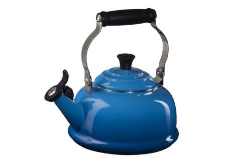 Le Creuset Marseilles Blue Whistling Tea Kettle - Q310159