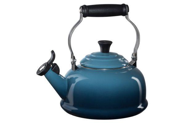 Le Creuset 1.8 Quart Marine Classic Whistling Tea Kettle - Q31016M