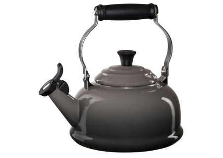Le Creuset 1.8 Quart Oyster Classic Whistling Tea Kettle - Q31017F