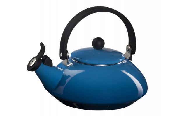 Le Creuset 1.6 QT Marseilles Blue Zen Kettle - Q921359