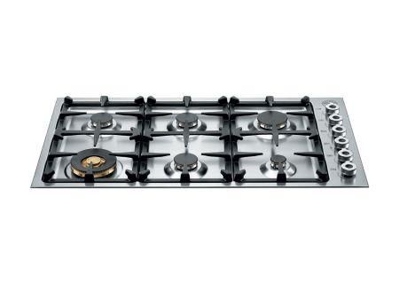 """Bertazzoni Professional Series 36"""" Gas Cooktop - QB36600X"""