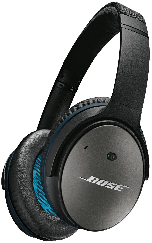 Bose QuietComfort 25 Black Acoustic Noise Cancelling Headphones ...