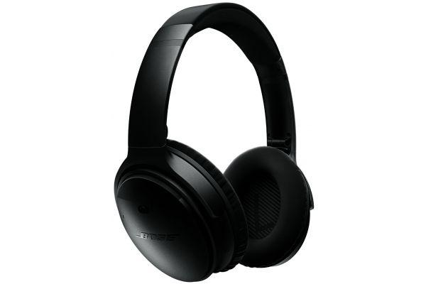 Large image of Bose QuietComfort 35 QC35 Black Wireless Headphones  - 759944-0010