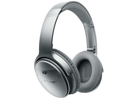 Bose QuietComfort 35 QC35 Silver Wireless Headphones  - 759944-0020