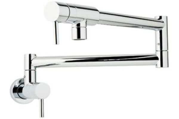 Rohl Polished Chrome Modern Architectural Pot Filler - QL66L-2APC