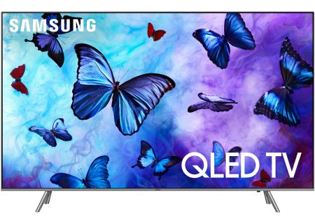 "Samsung 75"" Q6FN Eclipse Silver QLED 4K UHD Smart HDTV - QN75Q6FNAFXZA"