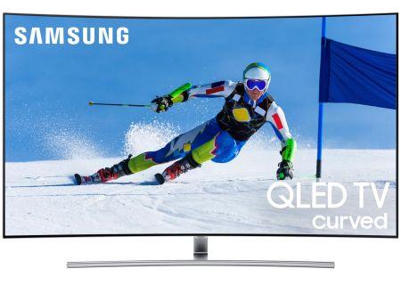 "Samsung Curved 55"" QLED 4K UHD 7 Series Smart HDTV (2017 Model) - QN55Q7CAMFXZA"
