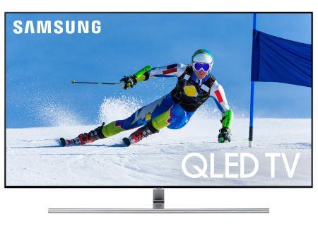 "Samsung Flat 55"" QLED 4K UHD 7 Series Smart HDTV (2017 Model) - QN55Q7FAMFXZA"