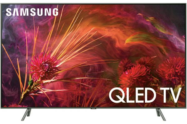 "Large image of Samsung 65"" Q8FN Carbon Silver QLED 4K UHD Smart HDTV - QN65Q8FNBFXZA"
