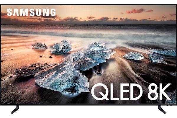 "Large image of Samsung 98"" Q900 Black QLED 8K UHD Smart HDTV - QN98Q900RBFXZA"