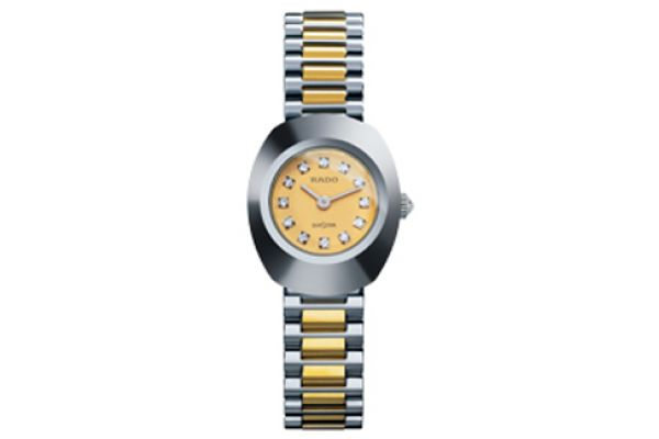 Large image of Rado Original Womens Two-Tone Stainless Steel Watch - R12558633
