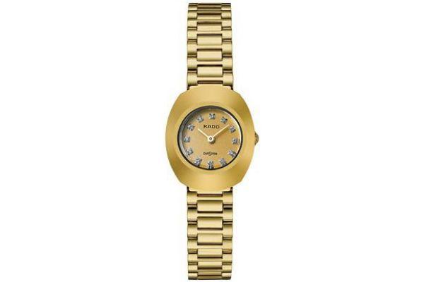 Large image of Rado Original Gold-Tone Dial Ladies Watch - R12559633
