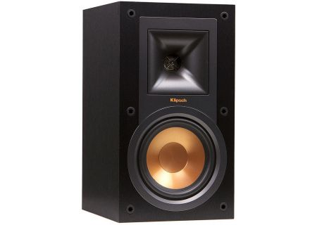 Klipsch Reference R-15M Black Bookshelf Speakers - R-15M
