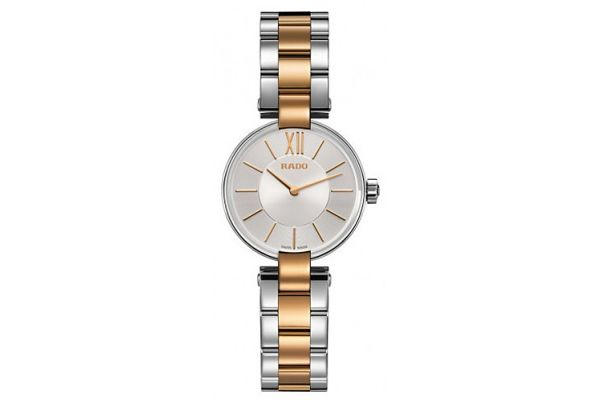 Rado Coupole S Quartz Silver Dial Ladies Watch - R22854023