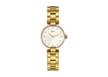 Rado Coupole Gold Womens Watch  - R22857923