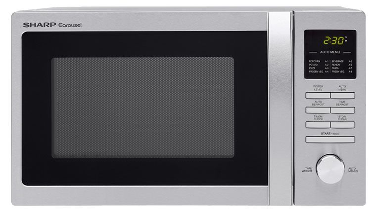 Sharp Compact Stainless Countertop Microwave R248bs