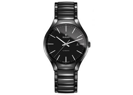 Rado Black True Automatic Mens Watch  - R27056152