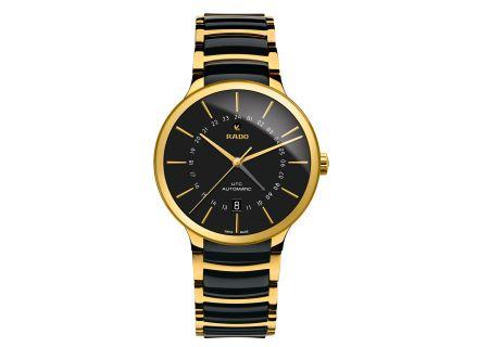 Rado Centrix GMT Automatic XL Two-Toned Ceramic Steel Mens Watch - R30163162