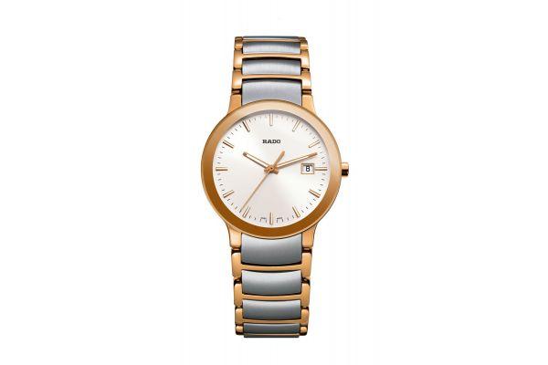 Rado Centrix Quartz Two-Tone Womens Watch - R30555103