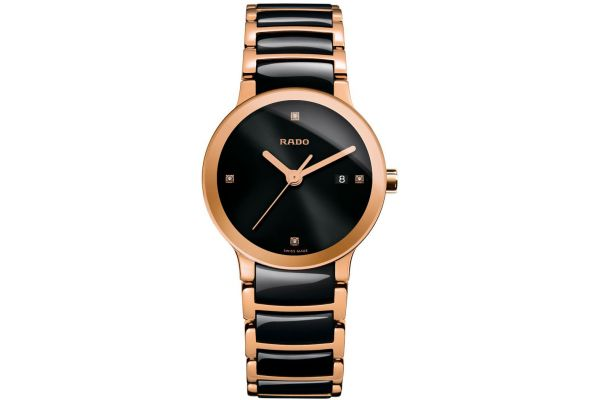 Large image of Rado Centrix Two Tone Womens Watch - R30555712