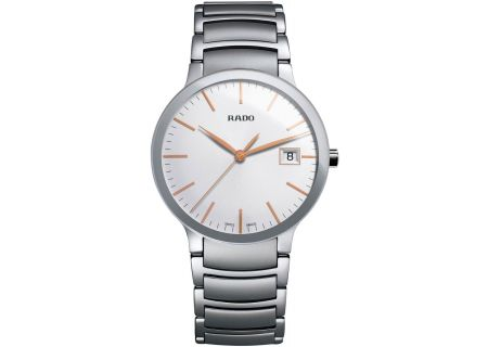 Rado Centrix L Quartz Stainless Steel Mens Watch - R30927123