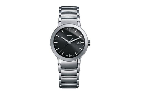 Large image of Rado Centrix Quartz Stainless Steel Womens Watch - R30928153