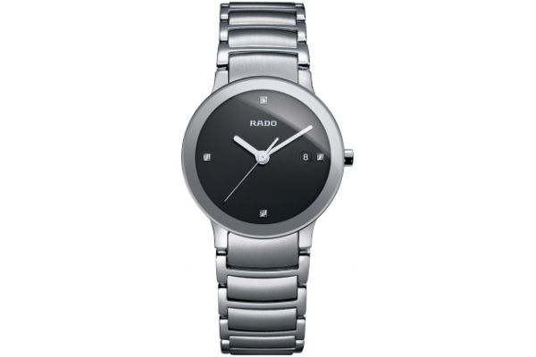 Large image of Rado Centrix Jubile Stainless Steel Womens Watch - R30928713