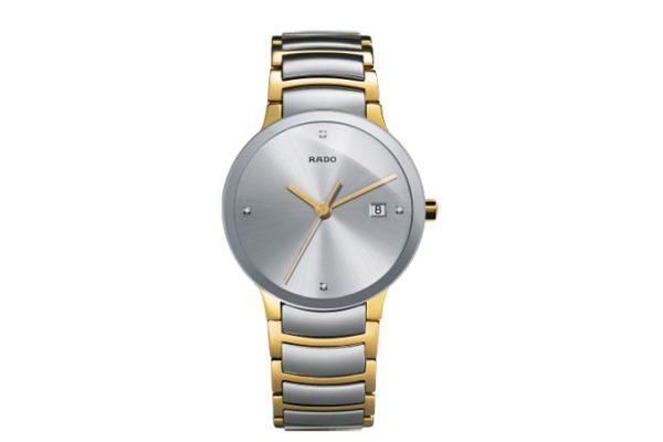 Rado Centrix Two-Tone Stainless Steel Mens Watch - R30931713
