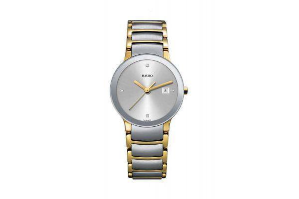 Rado Centrix S Quartz Jubile Two Tone Womens Watch - R30932713