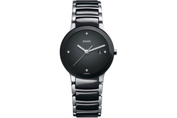 Rado Centrix S Quartz Jubile Black Mens Watch - R30935712