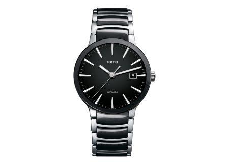 Rado Centrix L Automatic Black Mens Watch - R30941152